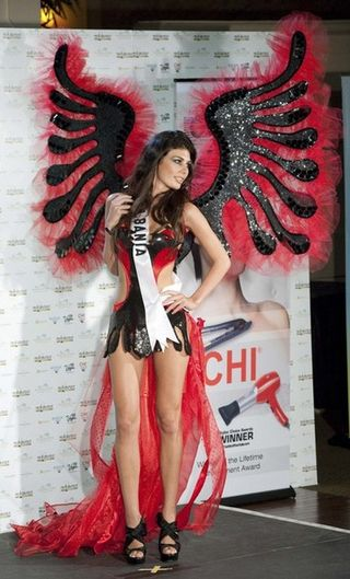 Miss Albania Angela Martini