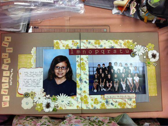 school portrait layout