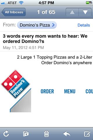 really, Dominos?